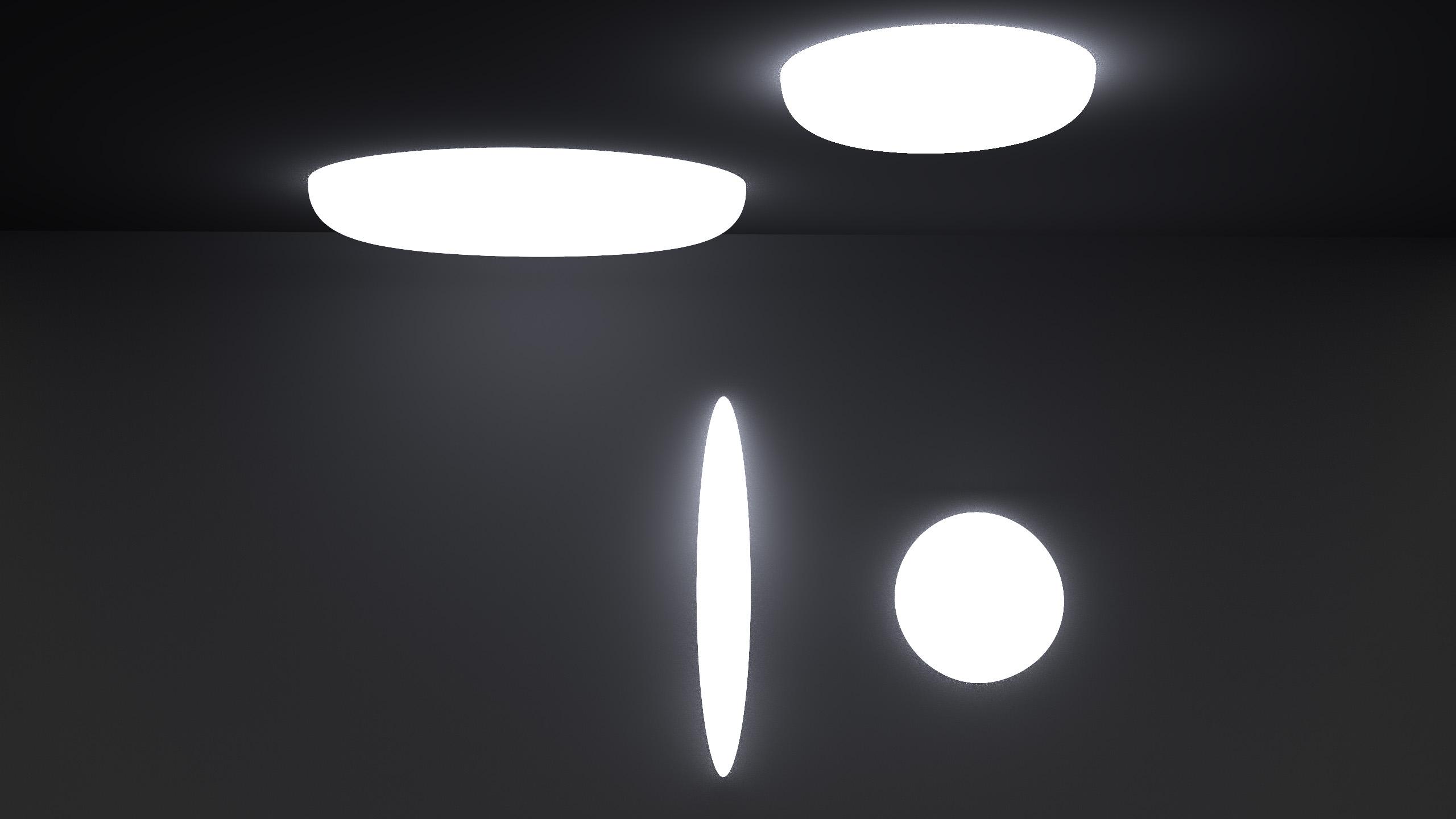 lampade accese